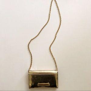 Zac Posen gold handbag